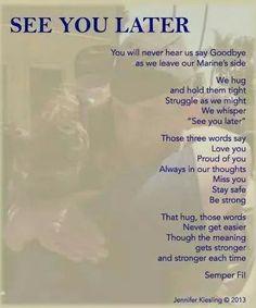 Never say goodbye!