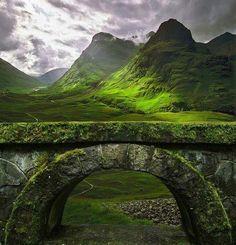Ancient bridge - Glencoe, Scotland