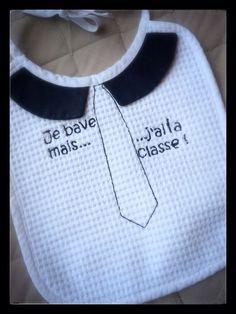 bavoir, classe, couture