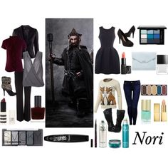 Outfits inspired by Nori from The Hobbit