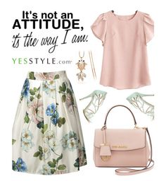 """""""Yesstyle"""" by merima-kopic ❤ liked on Polyvore featuring Glitglow, Michael Kors, party, anniversary, celebration and yesstyle"""