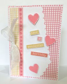 Made by Sue Morgan with Julie Loves sweet and petite stamps.