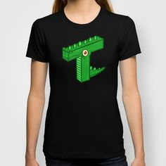 T-Rex T-shirt by Artistic Dyslexia - $22.00 artisticdyslexia.com Also available in Adult and Children's Clothing; Prints and Cards; iPhone, iPod and iPad Cases; iPhone, iPod, iPad and Laptop Skins; Throw Pillows; Tote Bags; Wall Clocks; Mugs and Rugs!