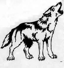 Bildresultat för wolf tattoo shoulder blade