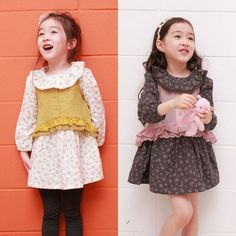 new fashion style girls Dress