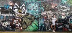 graffiti wall street anda Manila Ph