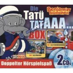 Hörbuch: Benjamin Blümchen - Tatütataaa-Box - Als Feuerwehrmann/als Polizist, Audiobooki w języku niemieckim <JASK>