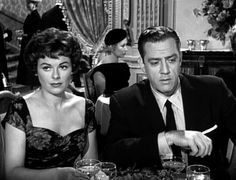 Perry Mason and Della Street out for Cocktails