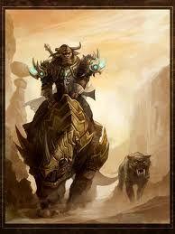 Trahern the Minotaur by ChaosDraco tauren monster beast