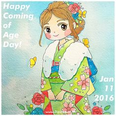 Happy Coming of Age day to those who turned 20 last year! Coming of Age Day (成人の日 Seijin no Hi) is celebrated in Japan on the 2nd Monday of every year (this year, it's January 11) to congratulate...