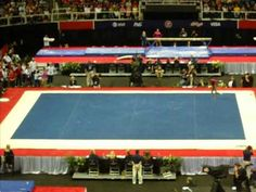 crowd favorite Gabby Douglas Floor - 2012 USA Gymnastics Olympic Trials Day 1