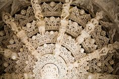 This stunning Jain temple is one of the most beautiful buildings I've ever been in.  Rajasthan, India.