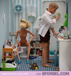 b for bel: Barbie's Married Life. Shit gets real.