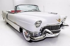 cool  1955 Cadillac Eldorado Convertible Red Leather - For Sale