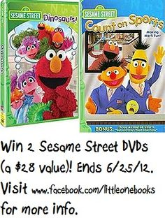 Sesame Street DVD Giveaway Does Your Little One Love Enter To Win A