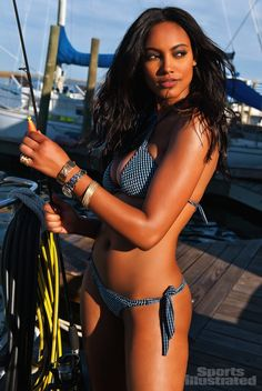 Ariel Meredith - Sports Illustrated Swimsuit 2012 Location: Apalachicola, Florida, United States, Coombs House Inn Swimsuit: Swimsuit by Despi Photographed by: Stewart Shining