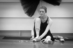 Ulyana Lopatkina rehearsing at the Mariinsky Theatre, photo by Roustem Adagamov (a.k.a. drugoi).