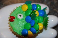 animal cupcakes easy to make | ... Alan Richardson to make these cupcake fish, buzzard and high heels
