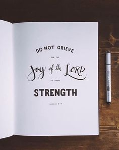 Nehemiah 8:10 #bible
