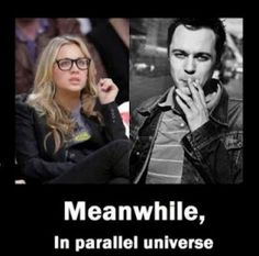 Who would have thought Sheldon could look so good? ;)