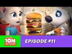 Talking Tom and Friends ep.11 - Hank the Millionaire - YouTube