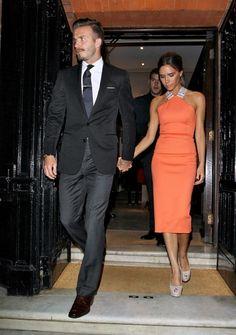Gorgeous #powercouple David & Victoria Beckham. Love them!