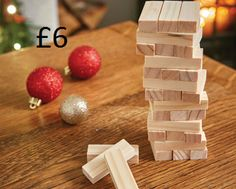 Toppling Tower Classic party game enjoyed by adults and children alike. Comes with 48 solid wooden blocks each measuring W4.5 x H1 x D1.5cm. COLLECTION/DELIVERY FROM ABERDEEN OR DIRECT DISPATCH VIA PAYPAL/CARD PAYMENT (£3.95 delivery) PM/COMMENT FOR DETAILS.