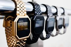 NIXON Re Run oldschool watch fashion men tumblr Style streetstyle
