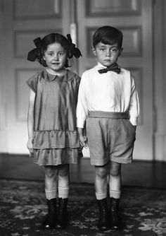 Girl & Boy | Siblings | black and white Photography