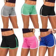 New Fashion Women Girls Summer Pants Women Sports Shorts Gym Yoga Fitness Shorts in Clothing, Shoes, Accessories, Women's Clothing, Sportswear Sport Shorts, Running Shorts, Yoga Shorts, Athletic Shorts, Mini Shorts, Yoga Leggings, Stripe Shorts, Skinny Shorts, Workout Shorts