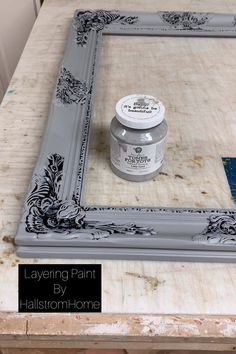 Layering Paint with our Ebook Learn tips and tricks to chalk style painting with our favorite brands and techniques that make paining easy and fun. Let me know if you have any questions and checkout our custom mirror shop online.