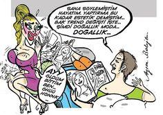 #karikatür  #mizah  #gülmece  #komik  #komedi  #ayşenbaloğlu #çizim #karikatur #enkomikkarikatür #enkomikkarikatur #funny #comics #aysenbaloglu #güzellik #estetik #doğal #doğallık #kadın #makyaj #botox