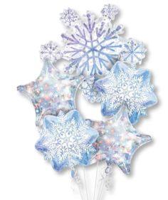 #Globos #Metalizados #Copos de #Nieve!! #Seguimos siendo tu mejor #Opcion!!