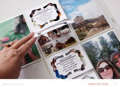 Free flip card cut file, Project Life and Travel, Barbara Picinich