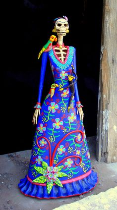 La Catrina is a figure commonly found in Mexico during the celebration of the Day of the Dead.