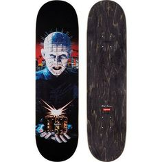 985a1732 Advertisement(eBay) Supreme Hellraiser Skateboard Deck Brand New 100%  Authentic