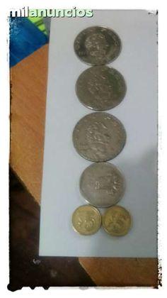 . vendo 100 monedas mexicanas de 1 de 5 y 20 pesos tambien de 10 20 50 centavos todas en muy buen estado, puedo enviar fotos de 10 en 10 para que las aprecien, env�o a toda espa�a por correo previo ingreso en cuenta, si eres de Santiago de Compostela te las