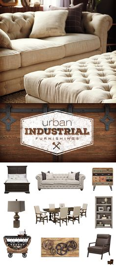 Create a show-stopping urban industrial style in your space whether you live in the city or the suburbs. Only at Value City Furniture! Value City Furniture, Furniture Decor, Street Furniture, Furniture Stores, Diy Home, My New Room, Home Decor Inspiration, Decor Ideas, Home And Living