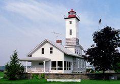 Ogdensburg Harbor Lighthouse,  New York