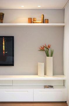 Home Design Ideas Living Room Tv, Home And Living, Living Spaces, Home Design, Home Interior, Interior Design, Sala Grande, Home Tv, Family Room