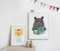 mama bear print - #woodland inspired nursery sorry i just like the, Deco ideeën