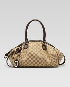 Sukey Medium Boston Bag by Gucci at Neiman Marcus. It's only $1100! A girl can dream, right?