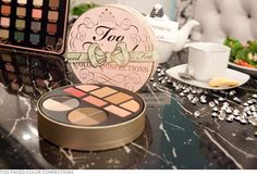 Color Confections  8 Eyeshadows for holiday parties, day to night  2 Luminous bronzers for a glowing complexion  2 Blushes for a warm flush or a rosy blooming effect  3 Must-have lip colors  #ULTA exclusive    $29  #TooFacedLove