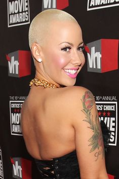 Amber Rose  She was born October 21, 1983