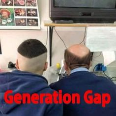 Generation Gap Funny Meme