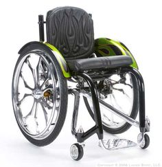 Found some pretty cool custom wheelchairs on this site.