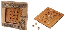 The Magic Square Puzzle Magic Squares, Number Puzzles, Brain Teasers, Wooden Puzzles, Templates, Games, Puzzles, Mind Games, Stencils