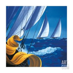 The Open Sea Art Print by Claude Theberge at Art.com