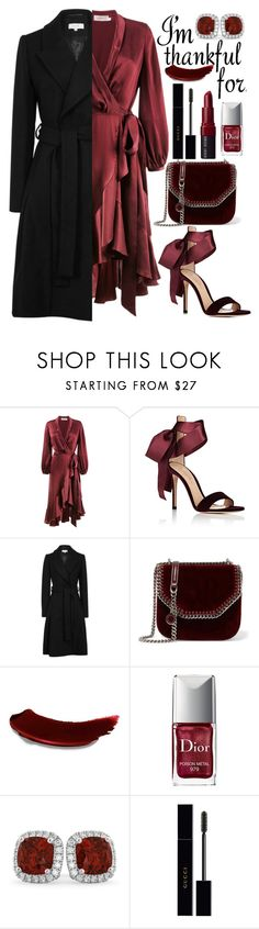 """Thanksgiving Day"" by mihai-theodora ❤ liked on Polyvore featuring Zimmermann, Gianvito Rossi, STELLA McCARTNEY, Christian Dior, Allurez, Gucci and Bobbi Brown Cosmetics"