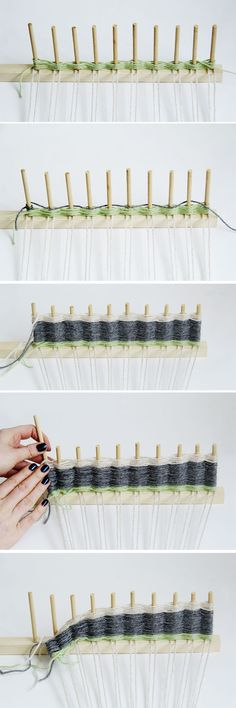 DIY Woven Wall Hanging Tutorial by Fall For DIY